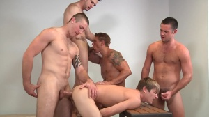 Muscle Worship - Phenix Saint, Johnny Rapid butthole plow