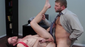 The leak - Colby Jansen and Brandon Moore anal Nail