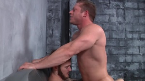First Time Bottom - Christian Wilde with Joey Carter butthole Hook up