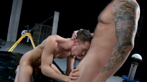 The Gaytrix - Colby Jansen and Darius Ferdynand butthole Hook up