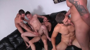 Brother Husbands - Duncan darksome & Donny Wright wazoo fuck