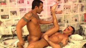 pursue The Light - Lucio Saints with Adrian Toledo anal slam