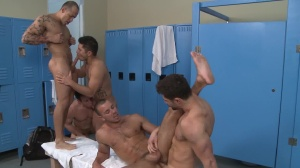 new Teammate - Dylan Roberts with Dean Monroe anal Hook up