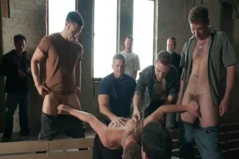 Bullies tied, Gag, And Edge young guy - homo blond twink tied Up