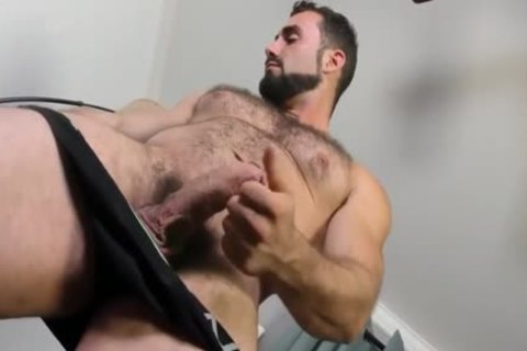 Jaxton Wheeler jerking off Is shaggy penis