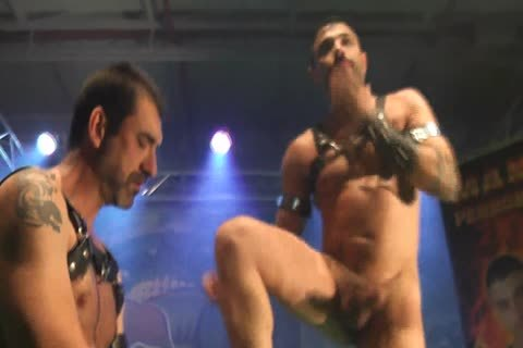 homo Pornstars banging On Stage
