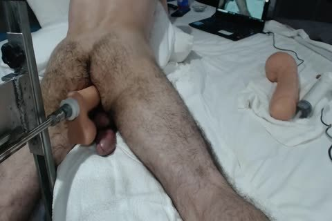 13+ CREAMY anal ORGASMS+ large SHOOTING LOAD WITH poke MACHINE