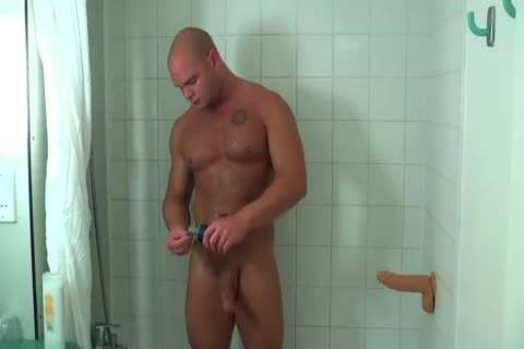 Muscle Cub Taking A sextoy