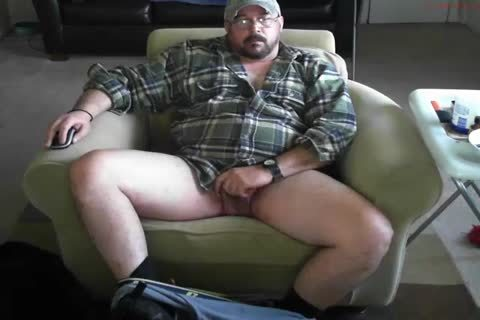 naughty Trucker Daddy Strokes