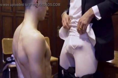 MormonBoyz - Ripped Missionary lad Permeates A Powerful Priests wild butthole