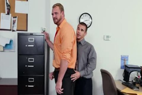 GRAB ass - recent Employee acquires Broken In By The Boss, Adam Bryant