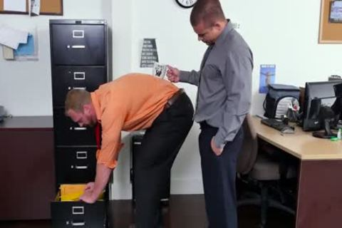 GRAB butthole - new Employee receives Broken In By The Boss, Adam Bryant