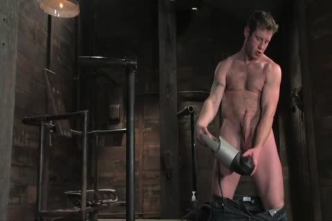 Dean gets pounded By A Machine