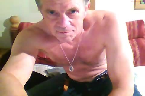 giant Dicked daddy jerking off 012