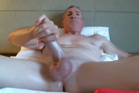 large Dicked dad jerking off 035