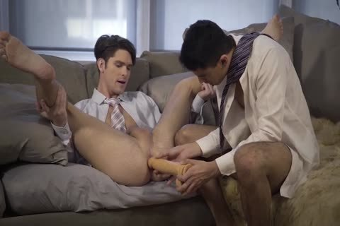 Gentlemen 19: Hard At Work – Scene 2 – Devin Franco And Lee Santino Flip-plow