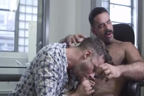 The Office, Part 1 – Teddy Torres bangs Damon Heart unprotected