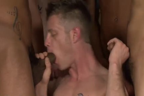 His First bare Bukkake gang sex - Bukkake boys