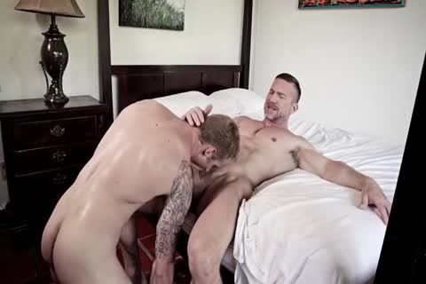 GayRoom Smooth booty Sleeper Awakens For A humongous booty plowing