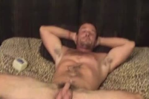 slutty Married Redneck Burt Plays With His hole