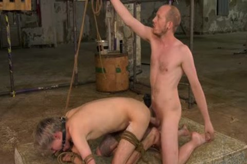 gigantic Dicked master Ties Up twink previous to fucking Him In pooper