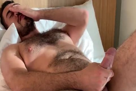 hairy dude Solo Masturbation
