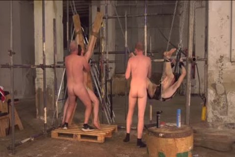Sub twinks Alex Faux And Avery Monroe bdsm plowed By Masters