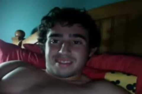 lascivious young guy shoots A monstrous sperm Load After Masturbation