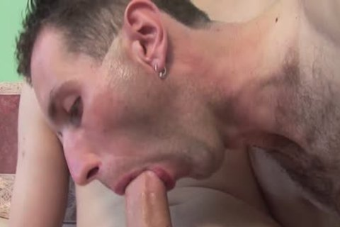 spooge meat - Two dirty man bareback Sex