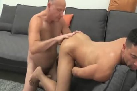 young dude Sucks & acquires banged By older Daddy