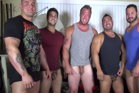 in nature's garb Party @ LATINO Muscle Bear abode - dilettante fun W/ Aaron Bruiser