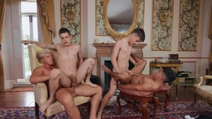 A Tale Of Two dick Destroyers movie scene 4 - Johnny Rapid and JJ Knight American bone