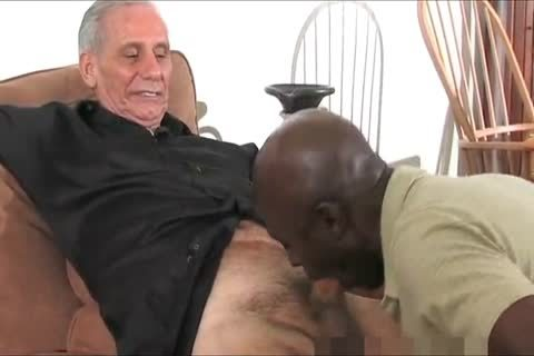 older black Daddy And Three White older man's, One valuable Time