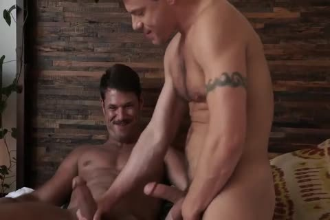 Jesse Santana pokes His ally Tyler Roberts stripped