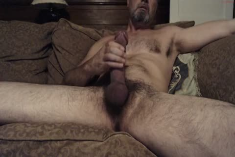 Hung hairy Daddy With A humongous rod