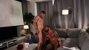 large Screen Narcissus: bare - Matt Anders with Tyler Berg butthole Licking Nail