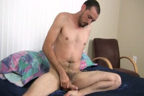 in nature's garb Foot that guy Strokes His Uncut jock Harder