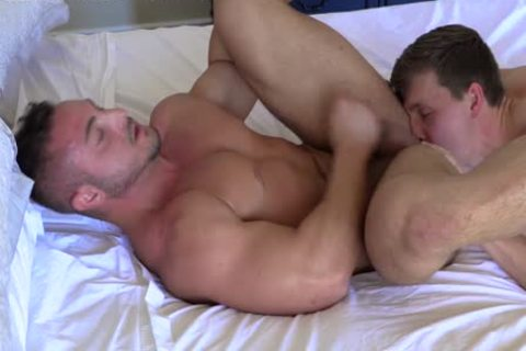str8 Stroking Each Other RIGHT previous to ass fuck! delicious jocks