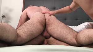 FamilyDick.com: Maxx Monroe and Bishop Angus shared in the bed
