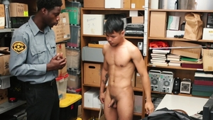 YoungPerps: Young John Rene plus Drake Magnum striptease