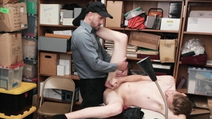 YoungPerps - Officer Wesley Woods fucked in the butt