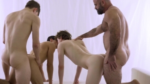 MissionaryBoys: Elder Call among Elder Dial threesome