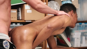 YoungPerps - Darien Foster alongside Jack Hunter in the store