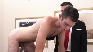 Missionary Boys: Elder Ingles in socks giving head for penis