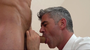 Missionary Boys: Nude Brother Hales demonstrates huge cock