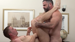 Missionary Boys - Wild Elder Kimball finds pleasure in bound
