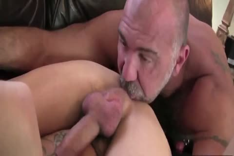 DADDY TRAINS YOUR anal WITH HIS palpitating weenie