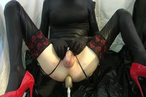 Sissy acquires pounded Locked By The Machine