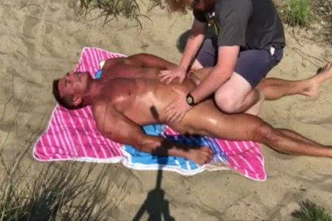 Dilf banged On The Beach