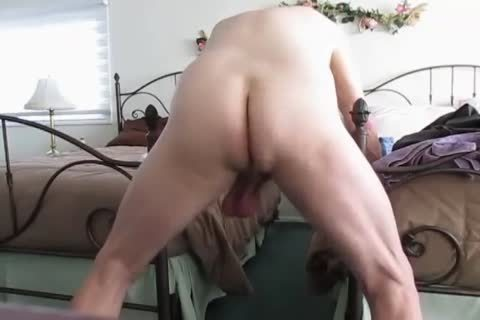 grandpa's Low Hangers. daddy Balls Swinging Back And Forth!